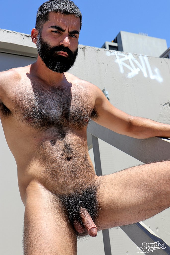 Hairy Stud Bastien Passif Shows Off 20