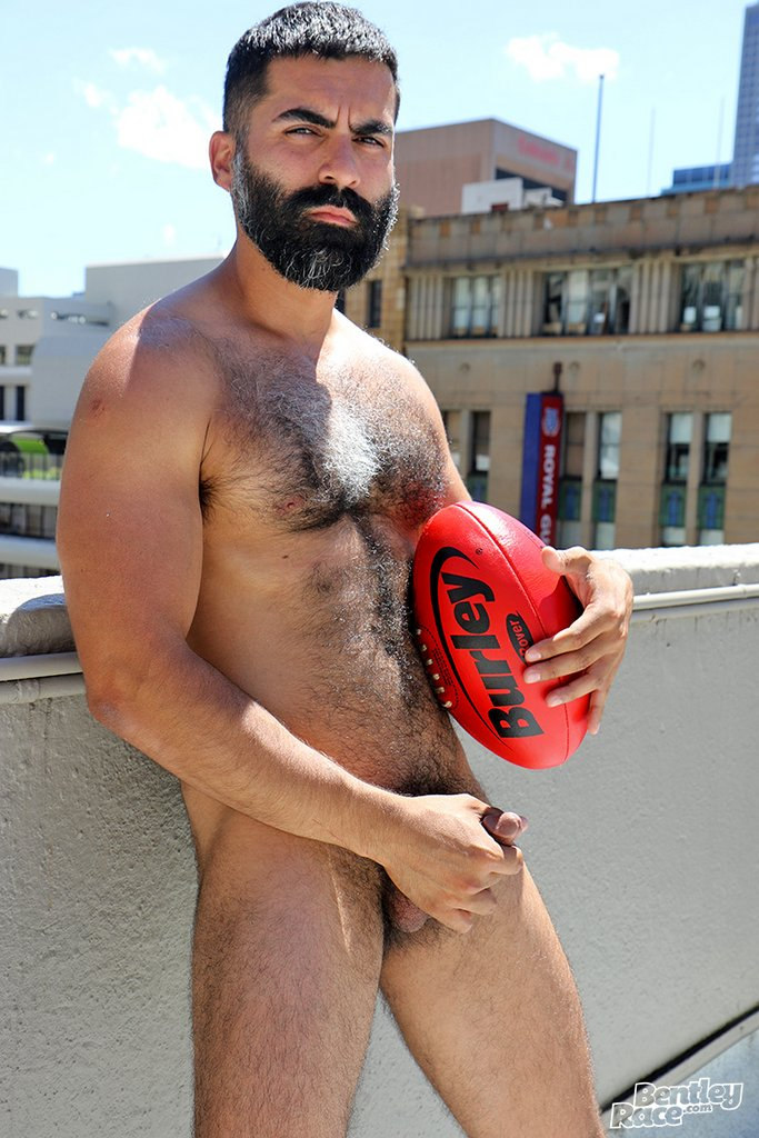 Hairy Stud Bastien Passif Shows Off 21