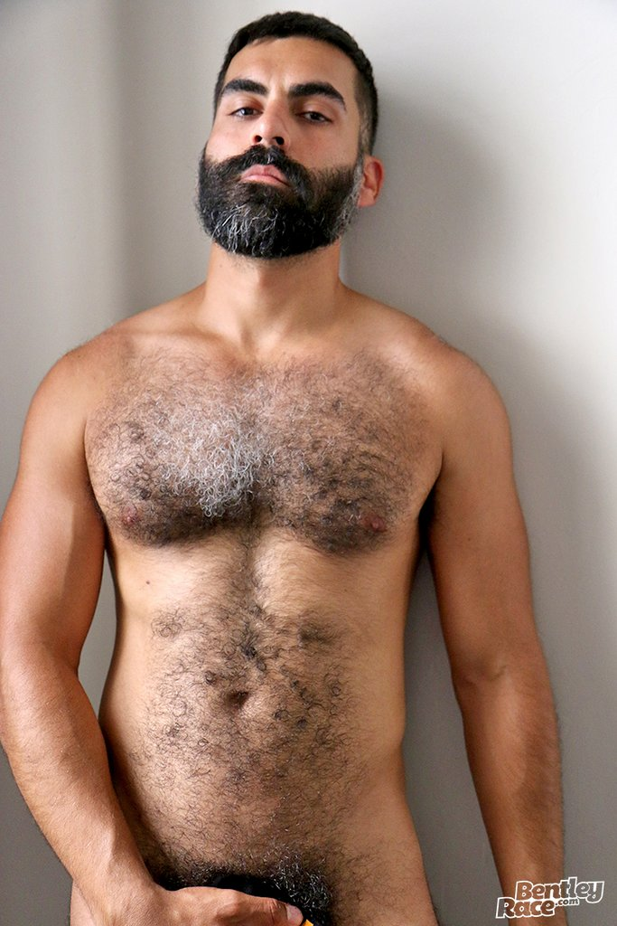 Hairy Stud Bastien Passif Shows Off 25