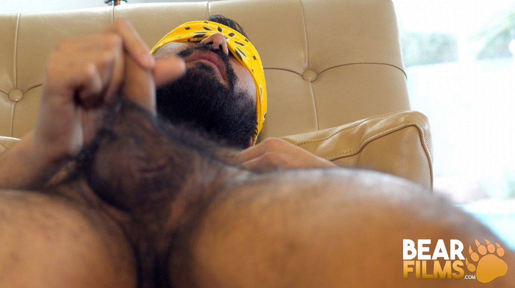 Hairy Guy Avi Strider Jerks off 03