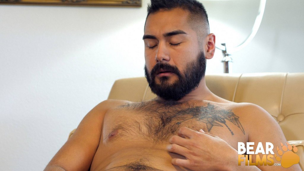 Hairy Guy Avi Strider Jerks off 08