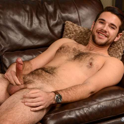 hairy guy derek jerks off