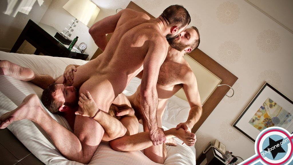 Joel Someone and Marco Napoli Fuck Parker Allen Raw 05