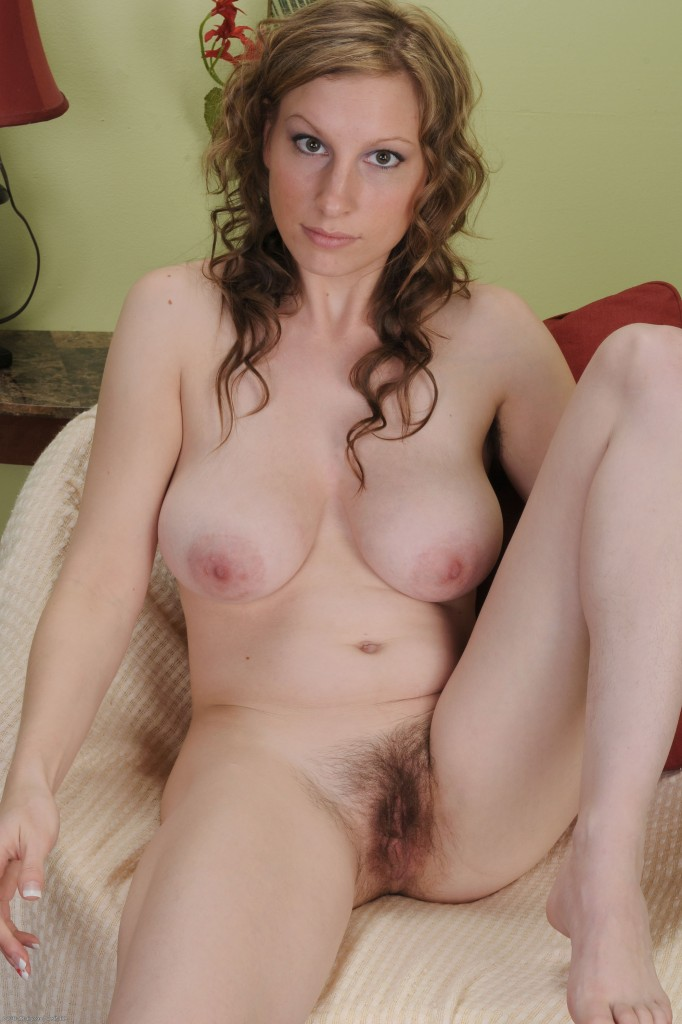 Hairy girl sausha packer shows off her hairy pussy 3
