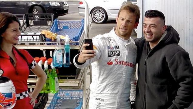 Jenson Button Car Wash Ad