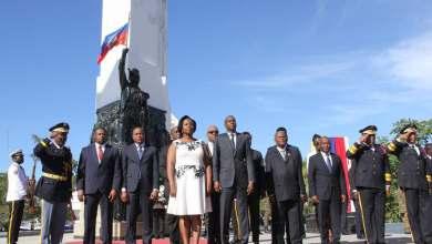 Commémoration des 214 ans de l'indépendance. Photo Ministère de la Communication