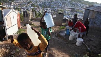 Pour un ministre en RD l'eau de puits en Haïti provient des latrines. Photo Angel.co