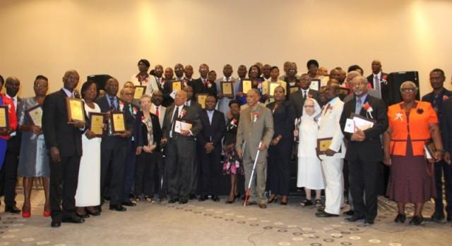 40 enseignants et 10 autres personnalités honorés par le MENFP1