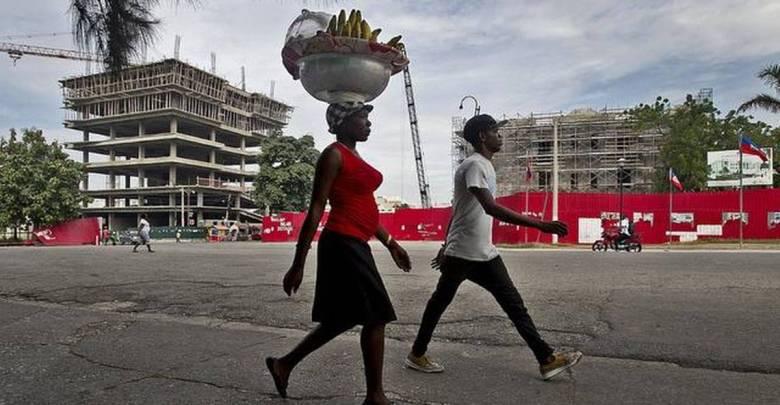 La Chine veut reconstruire Port au Prince à 47 milliards de dollars photo Patrick Farrell Miami Herald