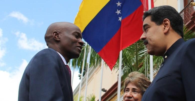 Jovenel ak Maduro