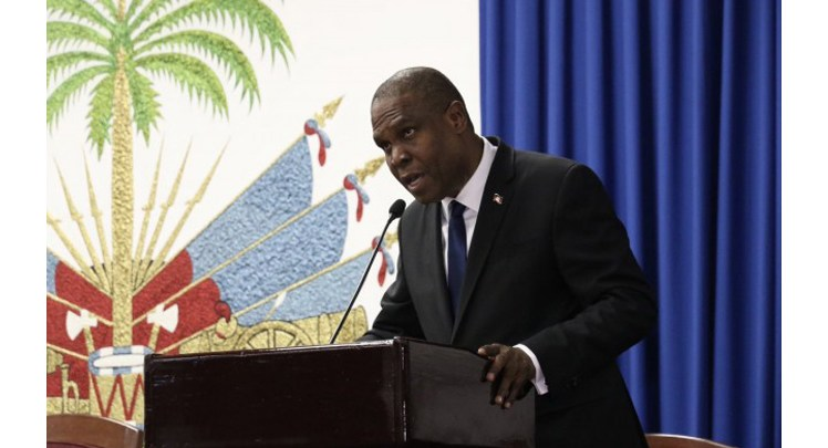 El primer ministro de Haití Jean Henry Céant