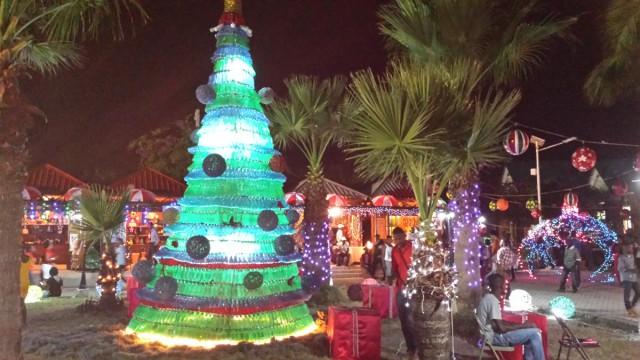 Un marché de Noel
