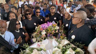 Funérailles émouvantes et mouvementées du journaliste Rospide Pétion
