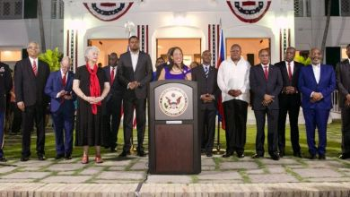 Michele Sison and haitian politicians credit the haitian sentinel