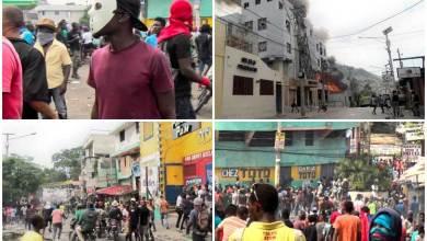 haiti protest FotosPL Aldo Camino