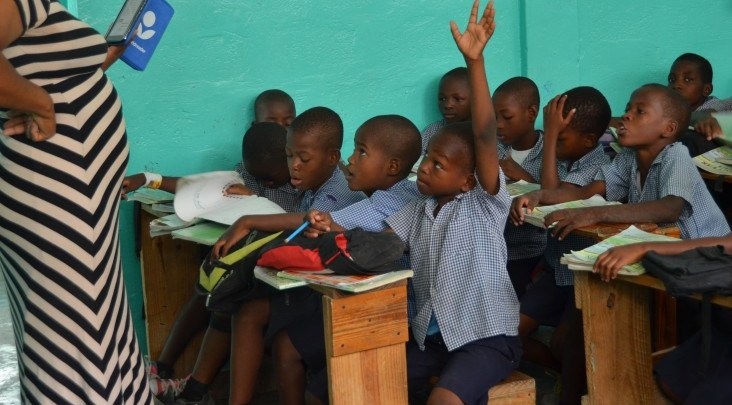 school kids credit USAID