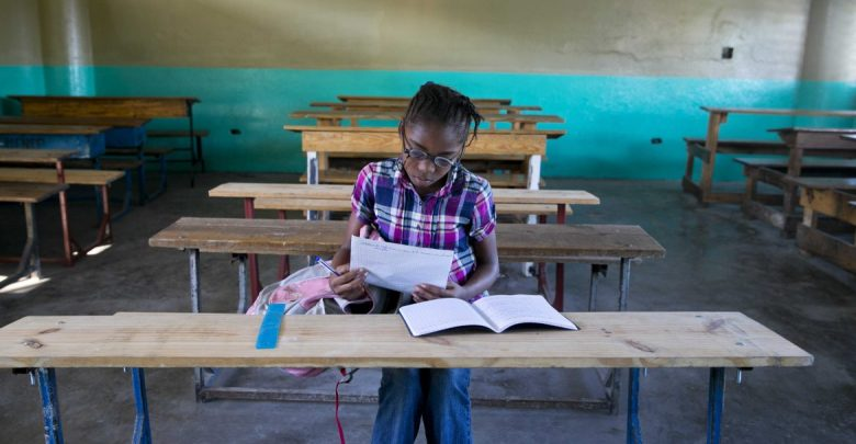 ap haiti school reopens 28nov19