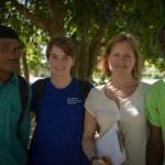 Maxo, Keri, Deborah and Bosque at CFFL
