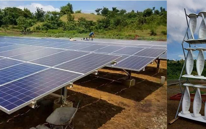 Haïti-Politique:Visite des travaux de construction du central de production d'énergie solaire et éolienne à Les Irois par Jovenel Moïse