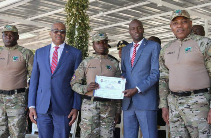 Haïti-Sécurité : POLIFRONT, une nouvelle entité de la PNH contrôle la frontière
