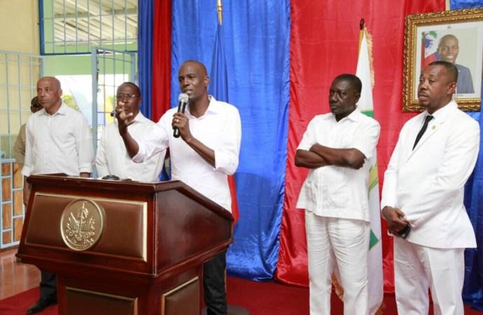 Haïti-infrastructures  Jovenel Moïse promet de construire un aéroport dans la ville des cayes avant la fin de son mandat