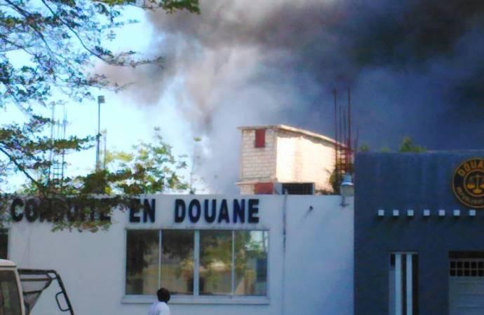 Incendie au marché du Port : un suspect interpellé