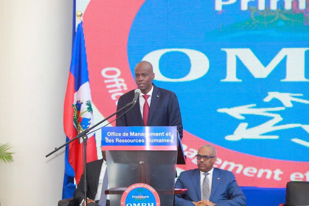 «La réforme de l'État, condition sine qua non du renouveau du pays», dixit Jovenel Moïse