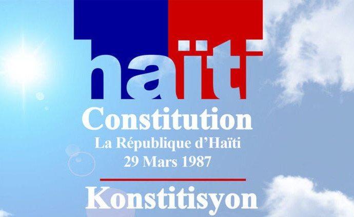 Haïti-Politique : Vers un éventuel amendement de la Constitution, la commission spéciale soumet un rapport partiel à l'Assemblée