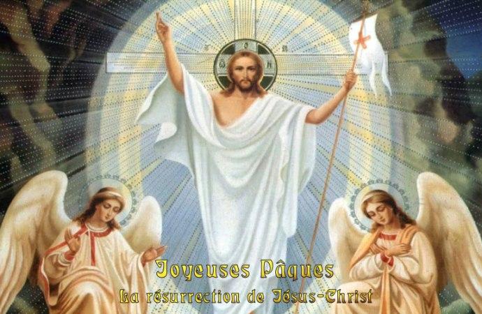 Bonnes et Joyeuses Fêtes de Pâques à tous