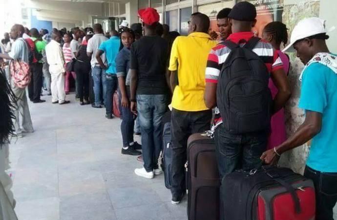 Des Haïtiens optent encore pour le Chili