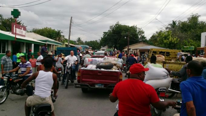 Réouverture du marché binational de Pedernales