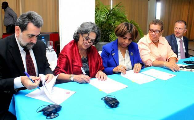 Signature de deux protocoles d'accord entre l'INFP et OIT-CINTERFOR
