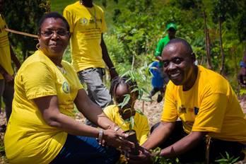 Lutte contre la désertification et la sécheresse en Haïti, le MDE et ses partenaires resserrent leurs liens