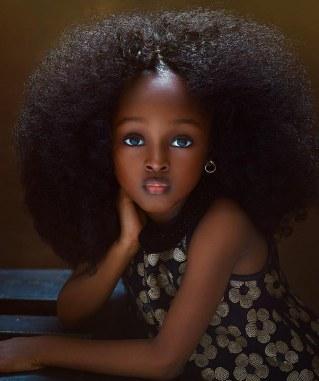 La plus belle petite fille du monde est une africaine