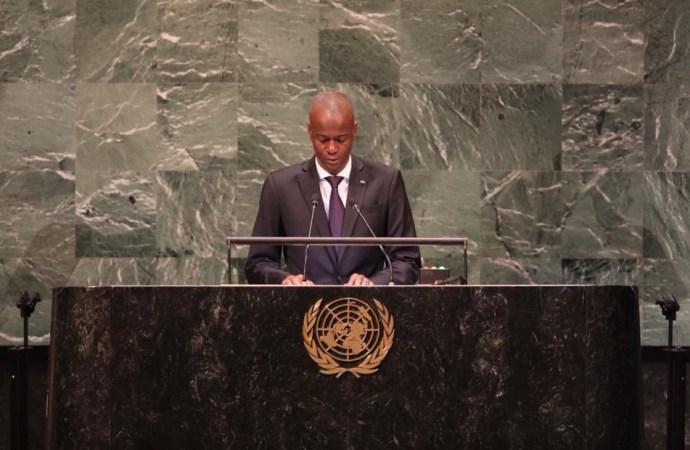 Assemblée générale de l'ONU : Jovenel Moïse renouvelle son engagement de lutter contre la corruption