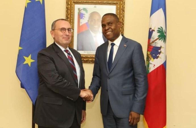 L'Union Européenne continue d'appuyer les efforts du gouvernement Céant
