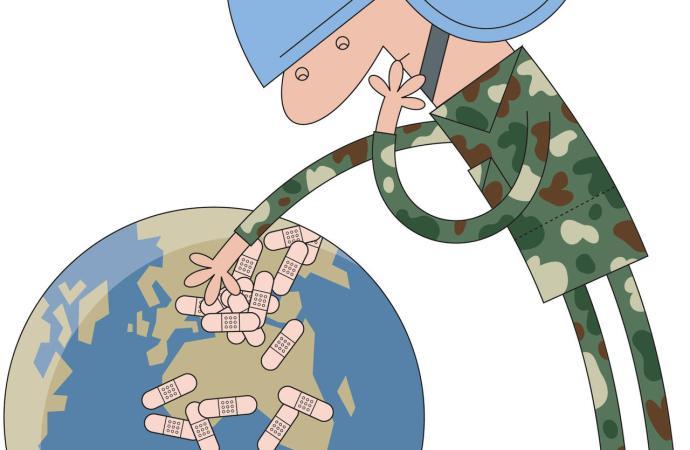 Une mission de l'ONU est dans nos murs !