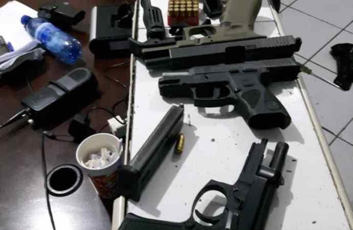 Arrestation d'un présumé bandit avec 3 armes à feu et 200 cartouches