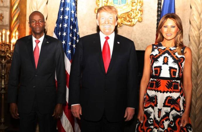 Mini-sommet USA-Caraïbes: Jovenel  Moïse reçu par Donald Trump
