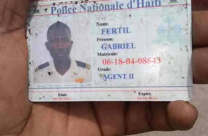 À Cité-Soleil, un policier tombe sous les balles assassines