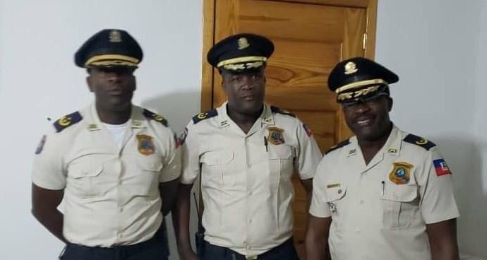 Changement au sein de la PNH : Paul Ménard Jean Louis nouveau chef de police de Pétion-Ville