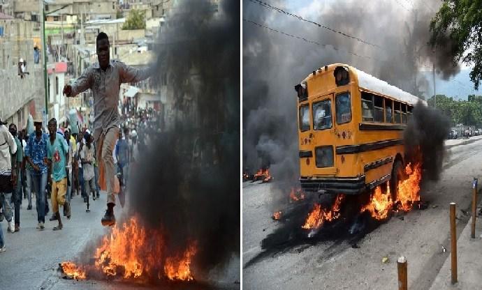 Manifestation anti-Jovenel : faut-il craindre un retour des pratiques lavalasiennes?