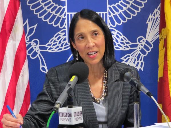Préoccupée par la crise, Michèle J. Sison appelle les acteurs haïtiens à s'entendre