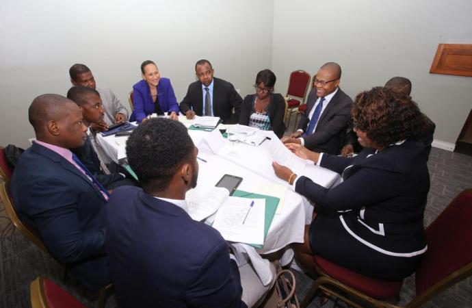 L'État haïtien et ses partenaires évaluent les Droits de l'homme en Haïti
