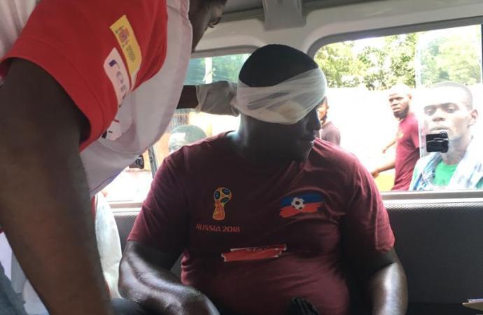 Plusieurs manifestants arrêtés et d'autres blessés