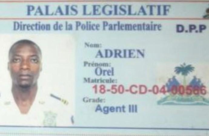 Un policier parlementaire tué par balles
