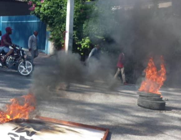 Situation de tension ce dimanche à Pétion-ville