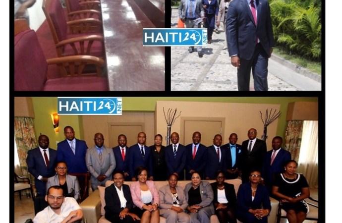 Ratification de  Fritz William Michel: vaste opération de nettoyage de la salle de séance