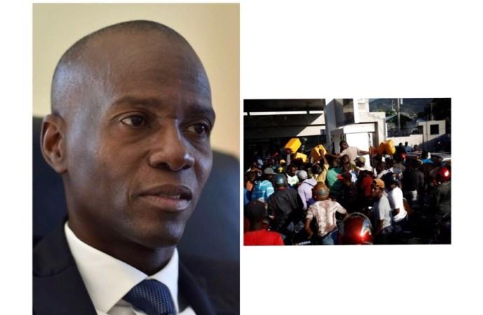 Éditorial :Si Jovenel Moïse ne reprend pas en main le «jeu du gaz», il se retrouvera vite derrière la porte du Palais national
