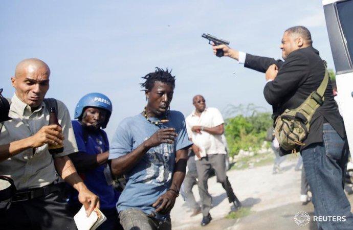 Fusillade au Parlement: le sénateur Jean Marie  Ralph Fethière confirme avoir tiré pour se défendre